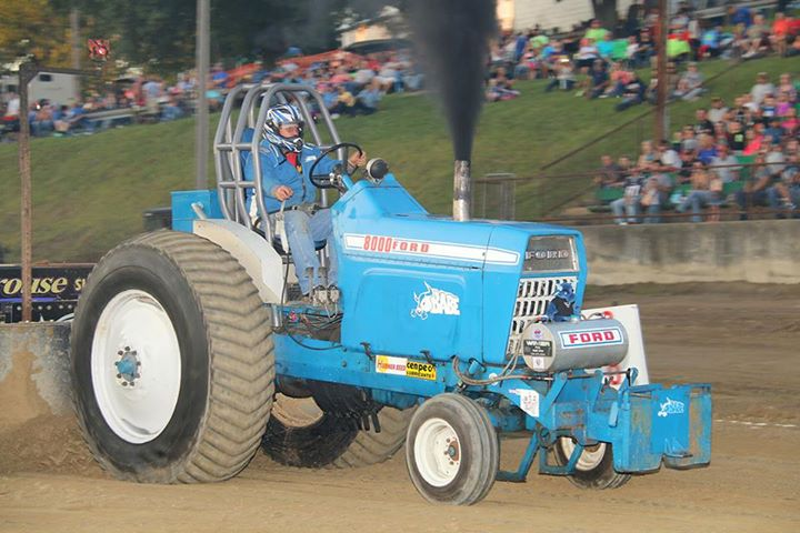 The USA-EAST Hot Farm Tractors invaded Harrison County on ...