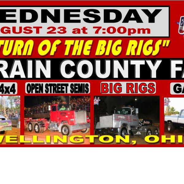 Big Rigs At Lorain County Fair Pulling Radio Network