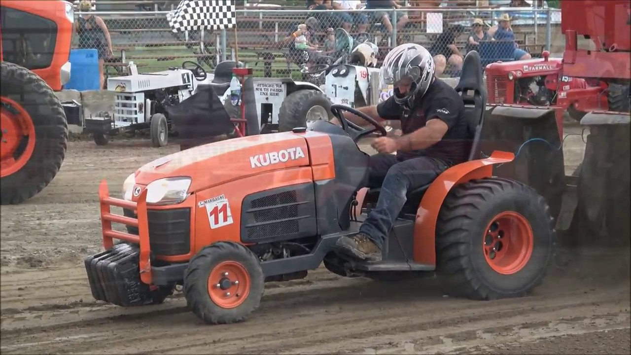 Garden Pulling Tractor Decal : Modified garden st damase tractor pulling by