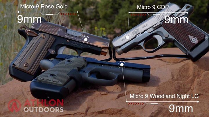 Set up like a 1911, the subcompact Kimber Micro 9 lineup