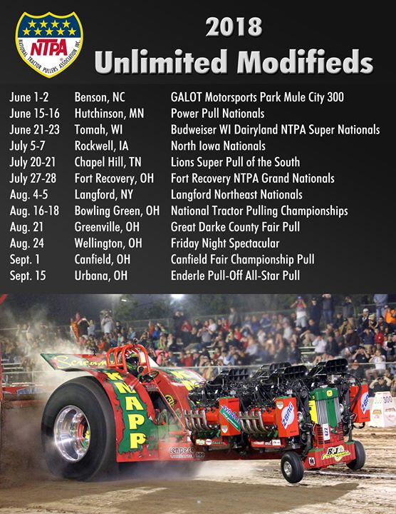 The multi-engine Unlimited Modifieds kick off the 2018
